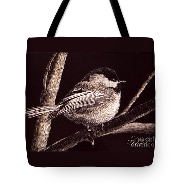 Winter's Day Tote Bag