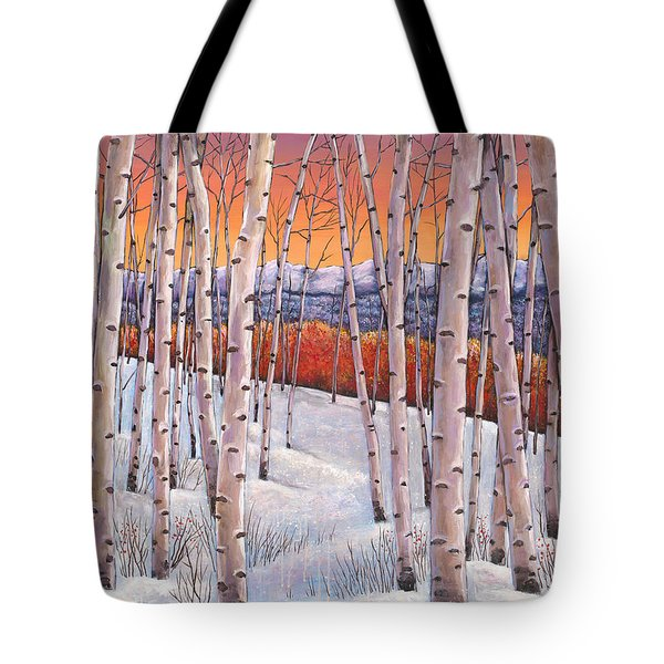 Winter's Dream Tote Bag