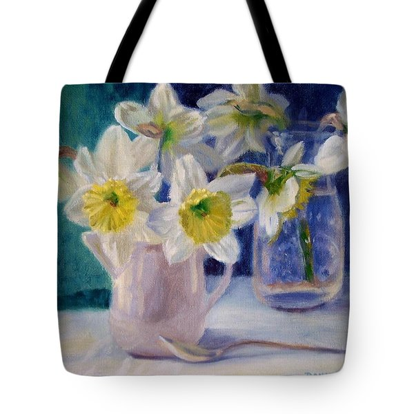 Winter's End Tote Bag by Bonnie Mason