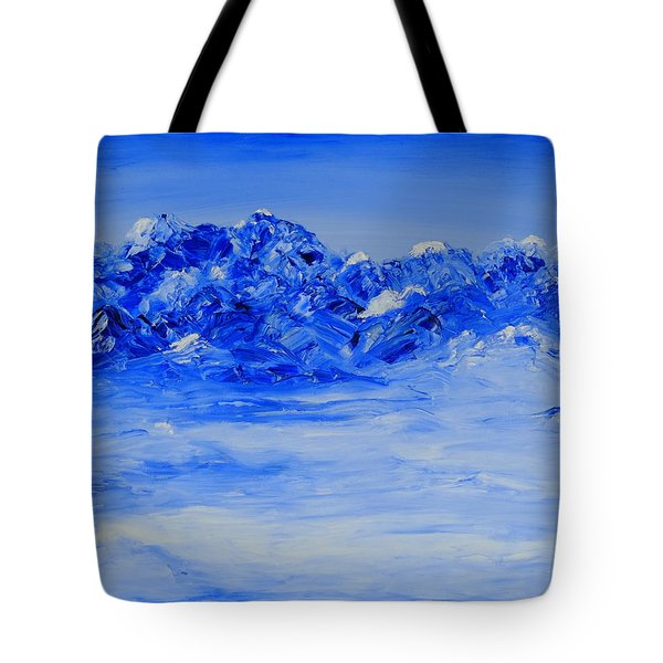 Winters Frosty Hues Tote Bag