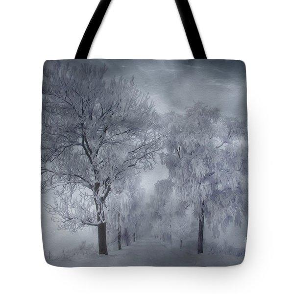 Winter's Magic Tote Bag by Veikko Suikkanen