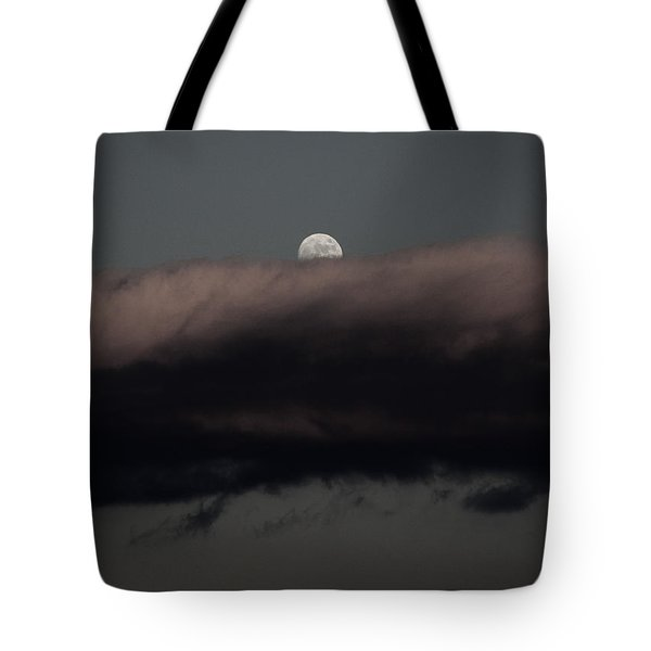 Winter's Moon Tote Bag