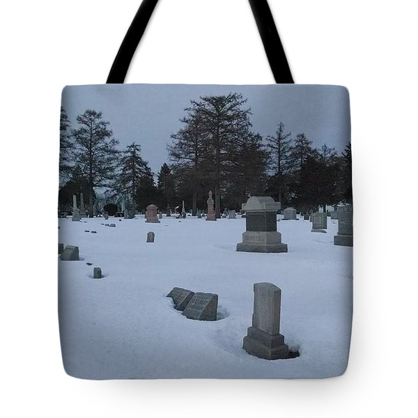 Winters Rest Tote Bag