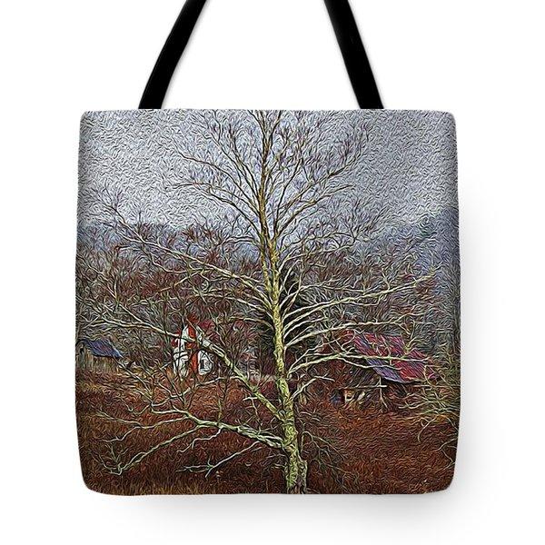Winter's Sentinel V2 Tote Bag