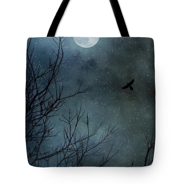 Winter's Silence Tote Bag