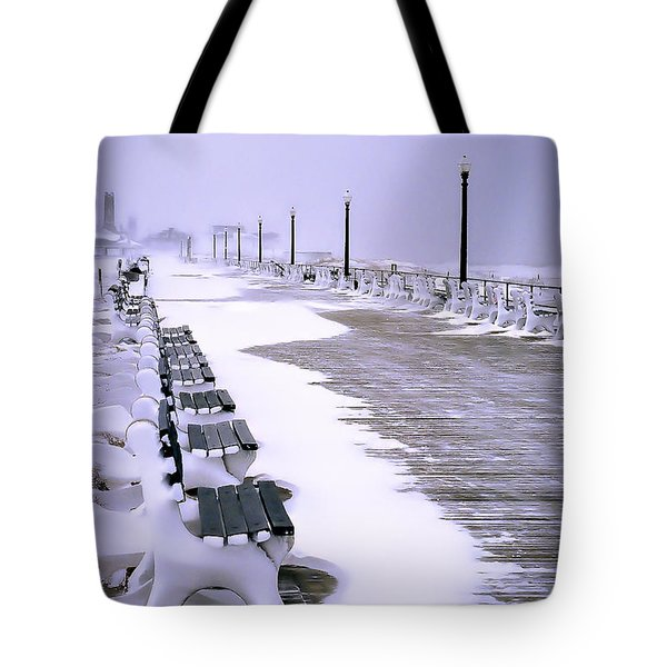 Winter's Silence Tote Bag by William Walker