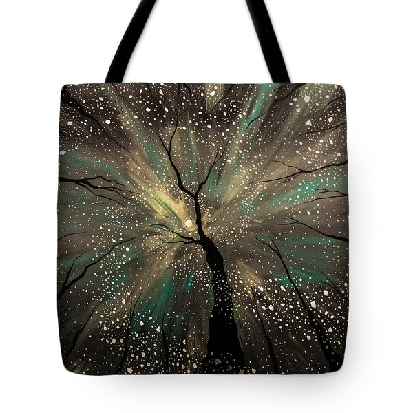 Winter's Trance Tote Bag