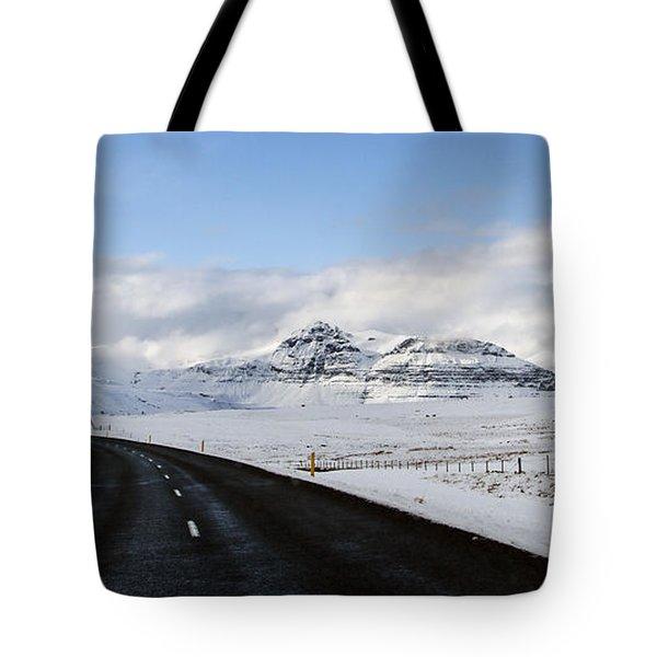 Winter's Way Tote Bag