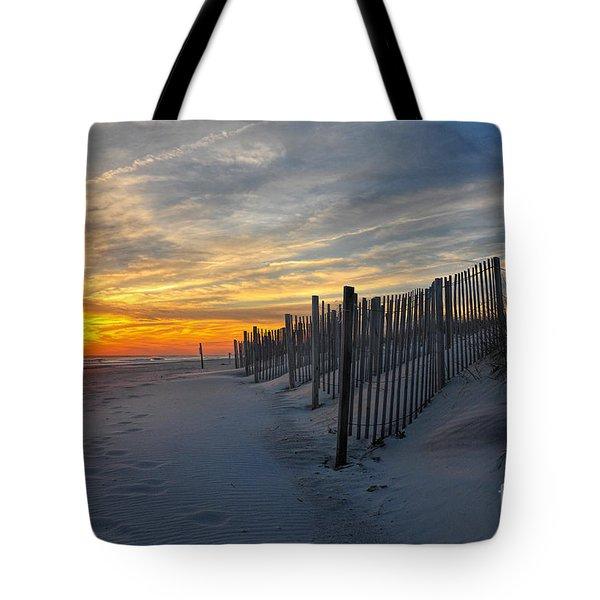 Winterset Tote Bag