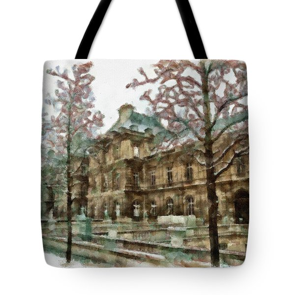 Wintertime Sadness Tote Bag by Ayse and Deniz