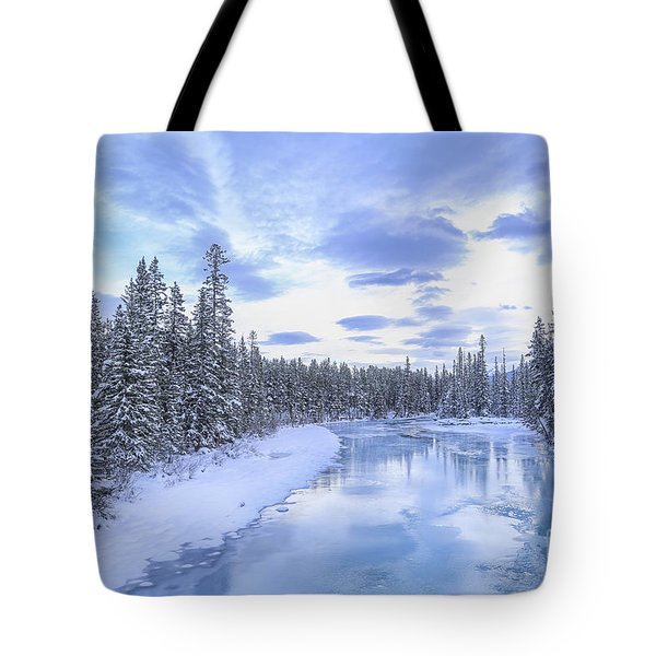 Wintery Tote Bag