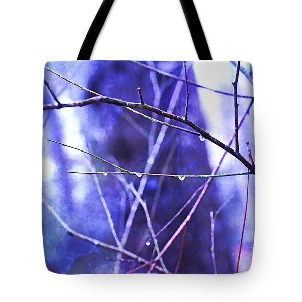 Wintry Tote Bag by Judi Bagwell