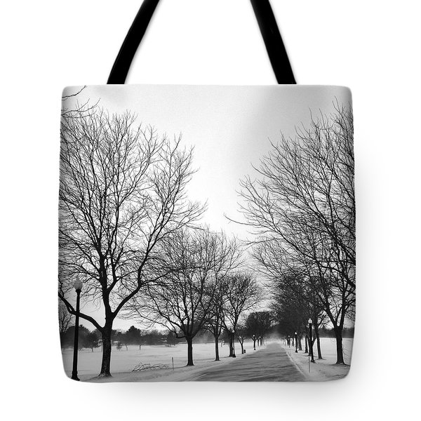 Windy Road Tote Bag