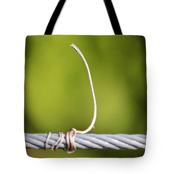 Wire On Wire Tote Bag by Cynthia Guinn