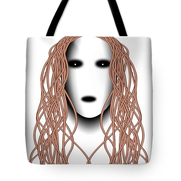 Wired Tote Bag by Christopher Gaston