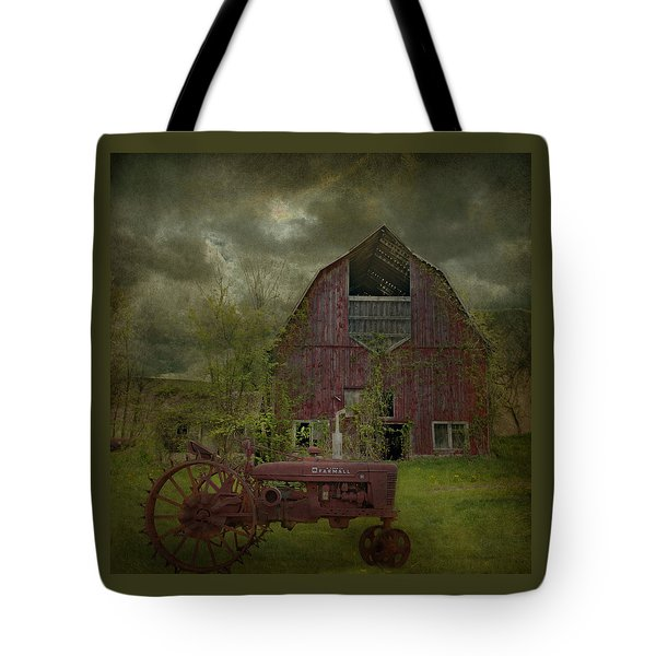 Wisconsin Barn 3 Tote Bag by Jeff Burgess