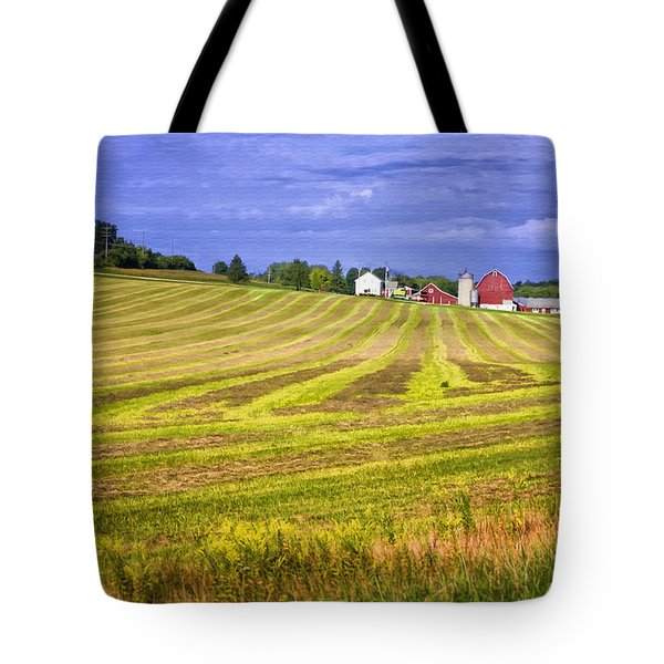 Wisconsin Dawn Tote Bag