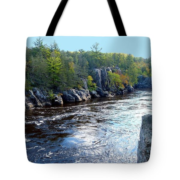 Wisconsin Shores 1 Tote Bag by Will Borden
