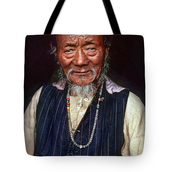 Wisdom Tote Bag by Steve Harrington