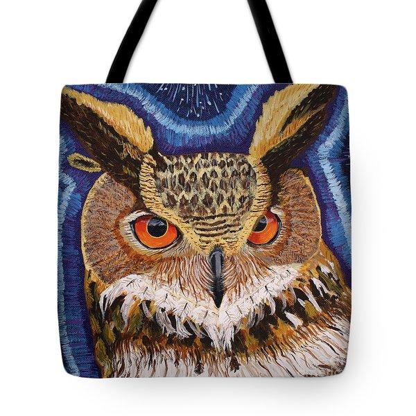 Wisdom Tote Bag by Vicki Maheu
