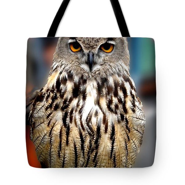 Wise Forest Mountain Owl Spain Tote Bag
