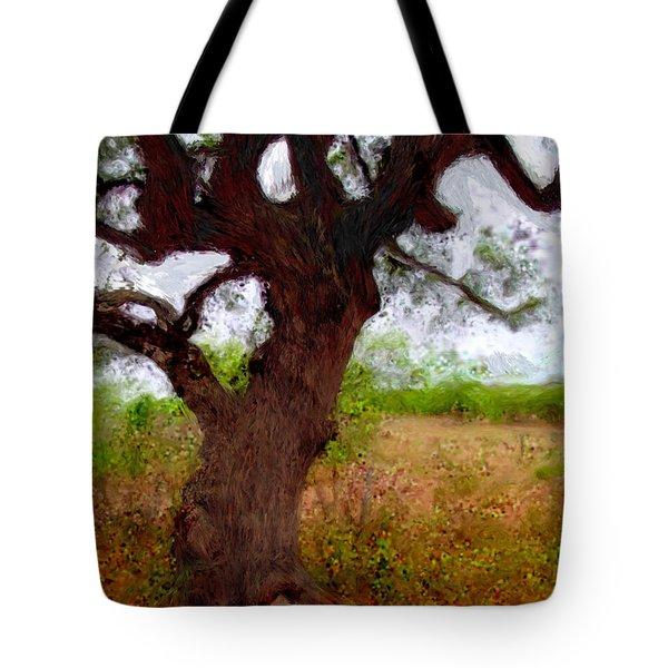 Da214 Wise Old Tree By Daniel Adams Tote Bag