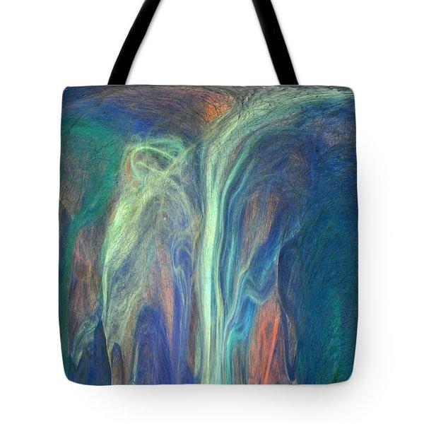 Tote Bag featuring the digital art Wisewomen by Aliceann Carlton