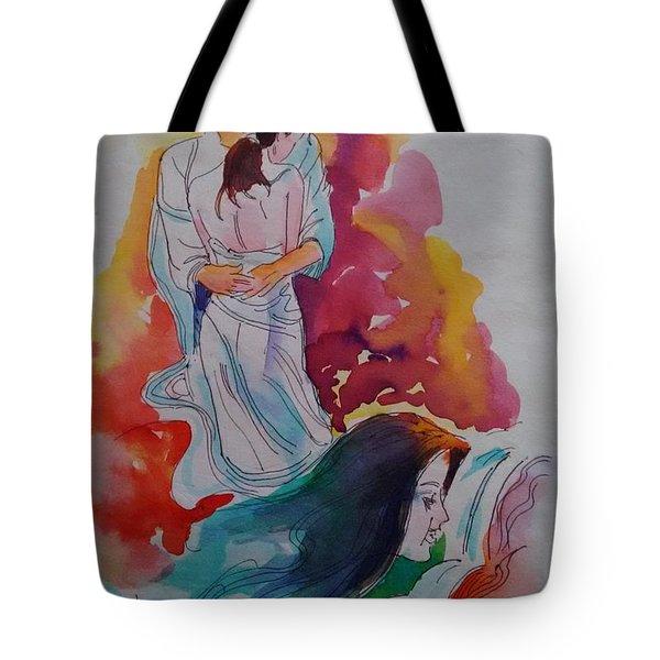 Wish I Could Tote Bag by Chintaman Rudra