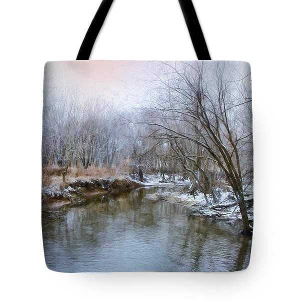 Wish I Had A River Tote Bag by John Rivera