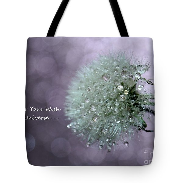 Wish To The Universe Tote Bag