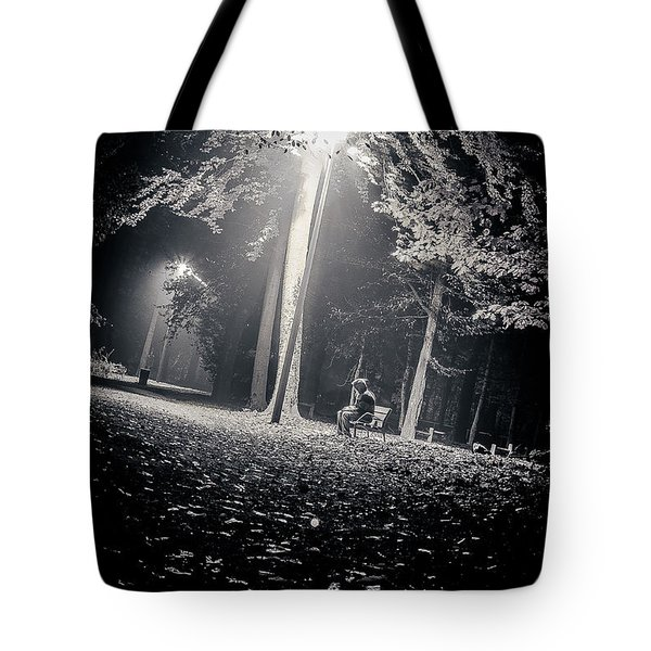 Tote Bag featuring the photograph Wish You Were Alone by Stwayne Keubrick