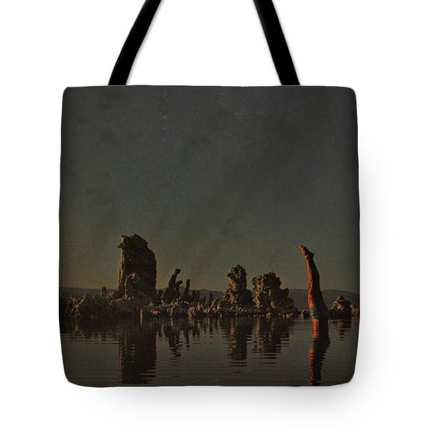 Wish You Were Here Tote Bag by Rob Hans