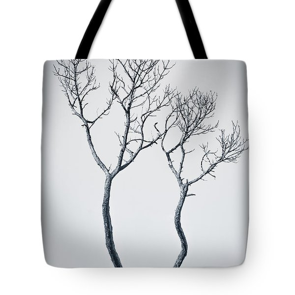 Wishbone Tree Tote Bag