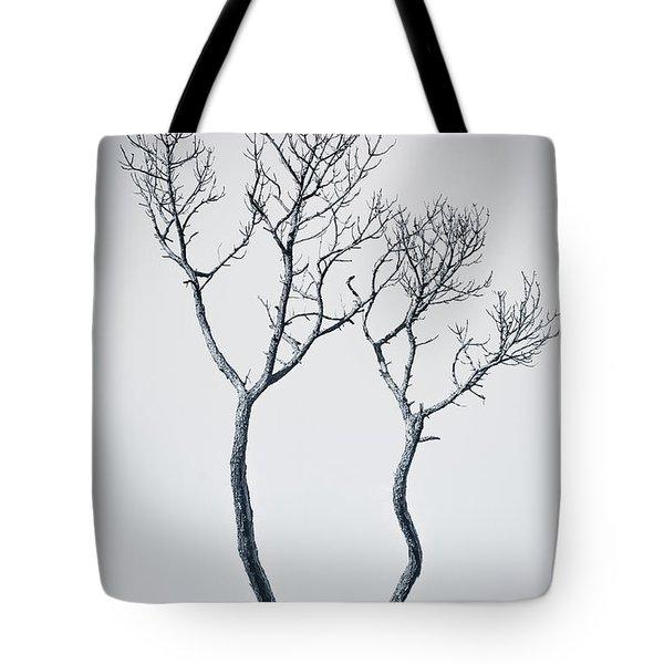 Wishbone Tree Tote Bag
