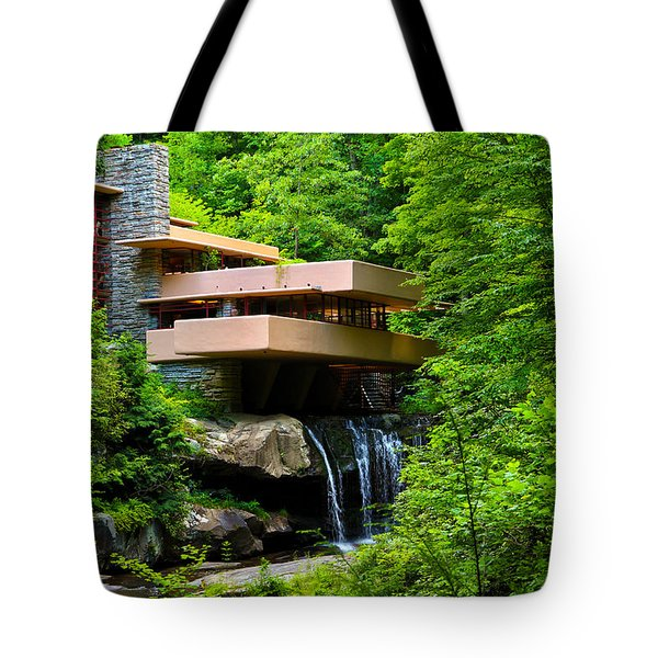 Wishes On Fallingwater Too Tote Bag by Rachel Cohen