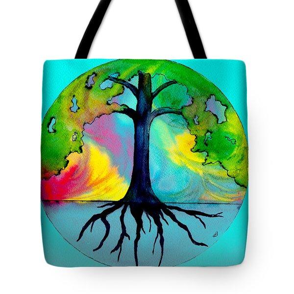 Wishing Tree Tote Bag by Brenda Owen