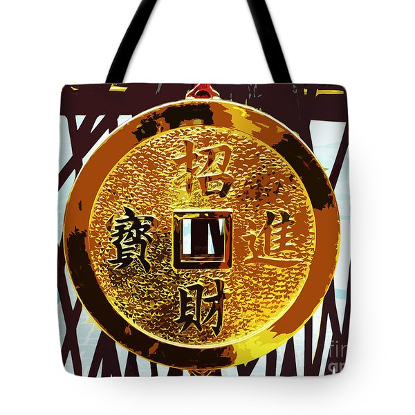 Wishing You Wealth Tote Bag