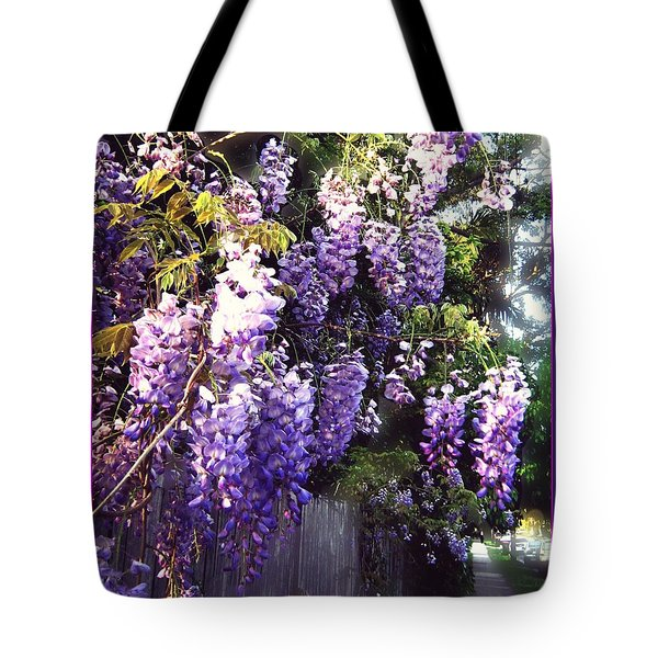 Wisteria Dreaming Tote Bag