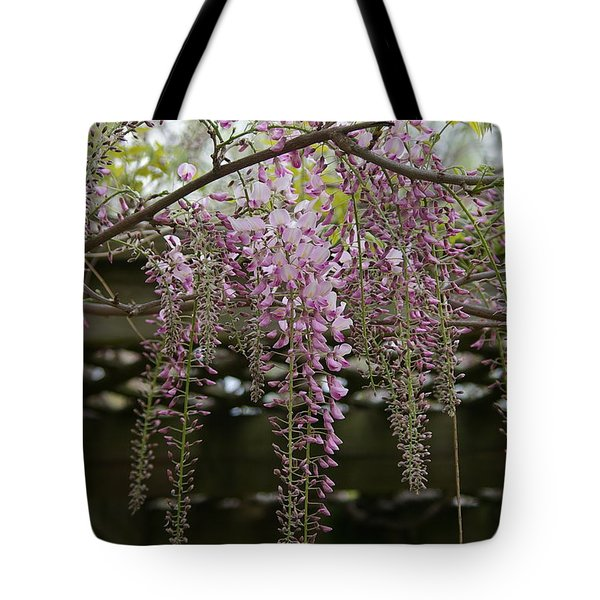 Wisteria Fall Tote Bag