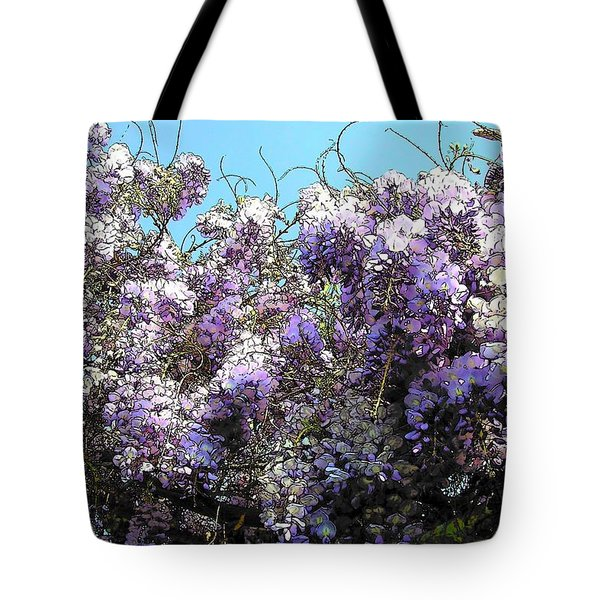 Wisteria - Fun Version Tote Bag