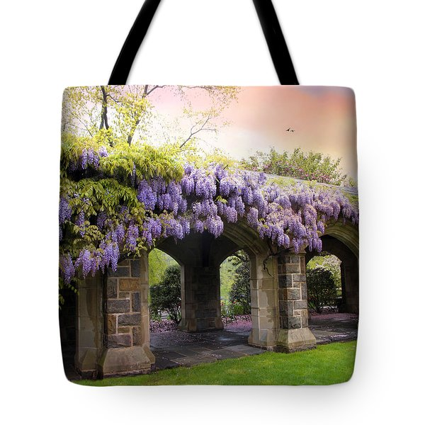 Wisteria In May Tote Bag