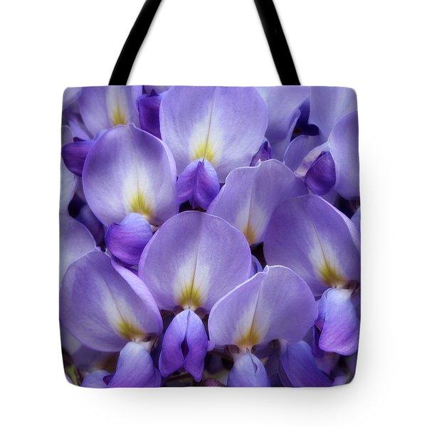 Wisteria Petals Tote Bag