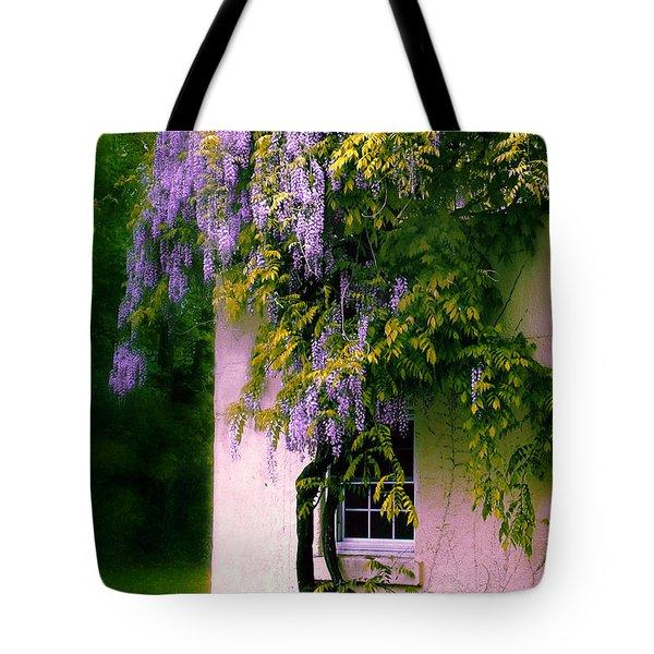 Wisteria Tree Tote Bag