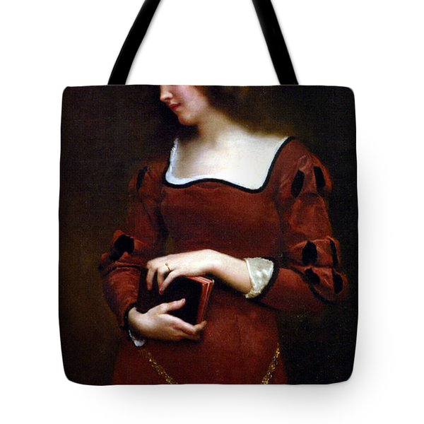 Wistful Thoughts Tote Bag by Gustave Jean Jacquet