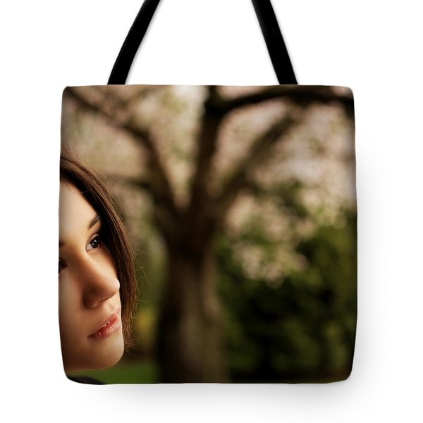 Wistfully Dreaming Of You Tote Bag by Lisa Knechtel