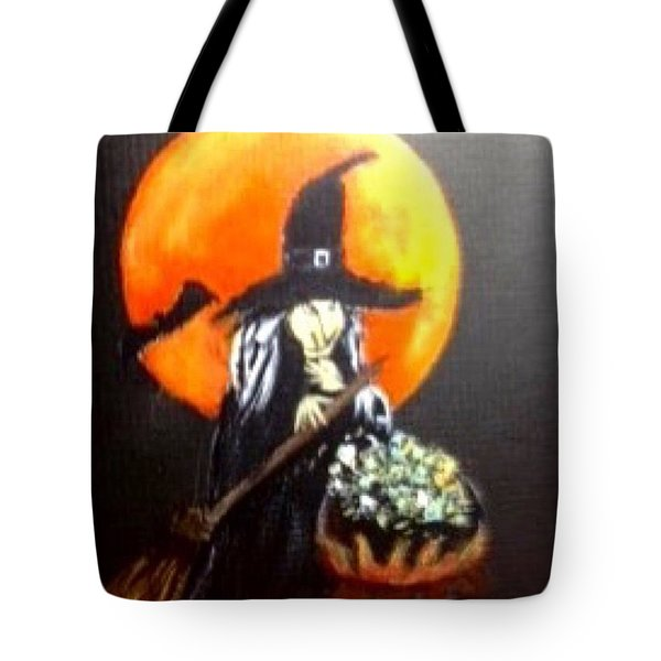 Witch Hazel Tote Bag