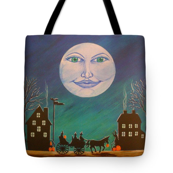 Witch Moon Tote Bag by Christine Altmann
