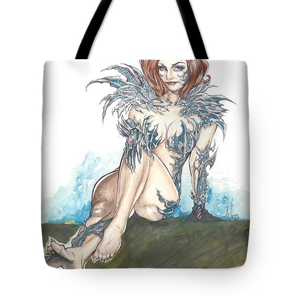 Witchblade Tote Bag