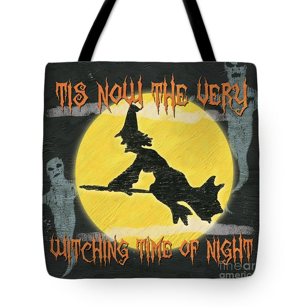 Witching Time Tote Bag