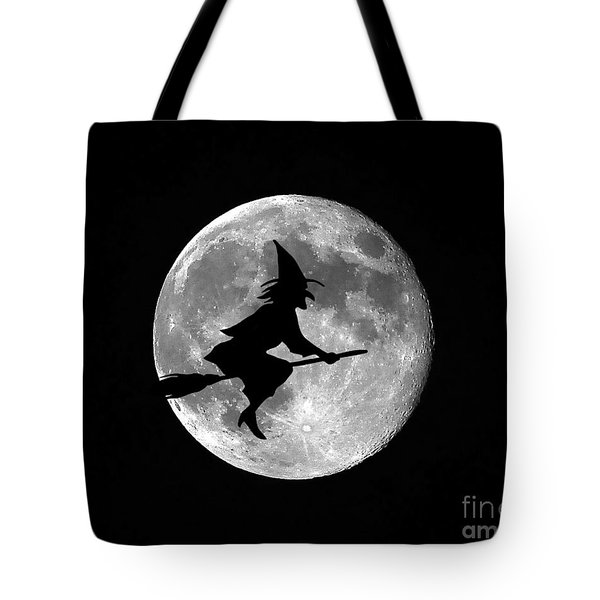 Witchy Moon Tote Bag by Al Powell Photography USA
